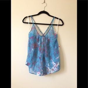 NWT Rory Beca x Forever 21 Watercolor Tank